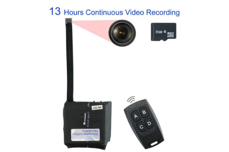 TEKMAGIC 8GB Mini caméra espion
