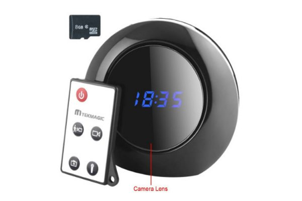 TEKMAGIC 8GB caméra espion alarme